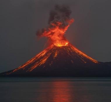 October 31 , 2018. EN.  Nicaragua : Momotombo , Peru : Ticsani , Colombia : Chiles / Cerro Negro , Costa Rica : Turrialba , Indonesia : Anak Krakatau .