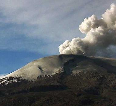 November 24 , 2016. EN.  Nevado Del Ruiz , Planchón – Peteroa , Sabancaya , Turrialba , Sangay .