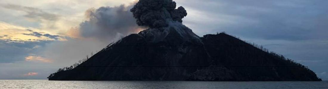 06 Décembre 2018. FR  . Japon : Kirishimayama , Papouasie Nouvelle Guinée : Kadovar , Guatemala : Fuego , Alaska : Veniaminof .