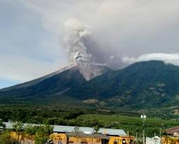 November 20 , 2018.  EN.  Guatemala : Fuego , Peru : Sabancaya , Alaska : Veniaminof , Russia / Northern Kurils Islands : Ebeko .