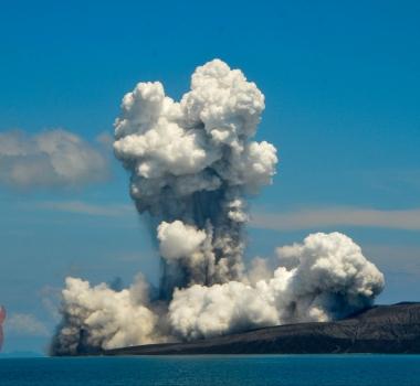 January 09 , 2019. EN.  Indonesia : Anak Krakatau , El Salvador : San Miguel ( Chaparrastique ) , Chile : Lascar , France / Guadeloupe : La Soufrière , Hawaii : Kilauea .