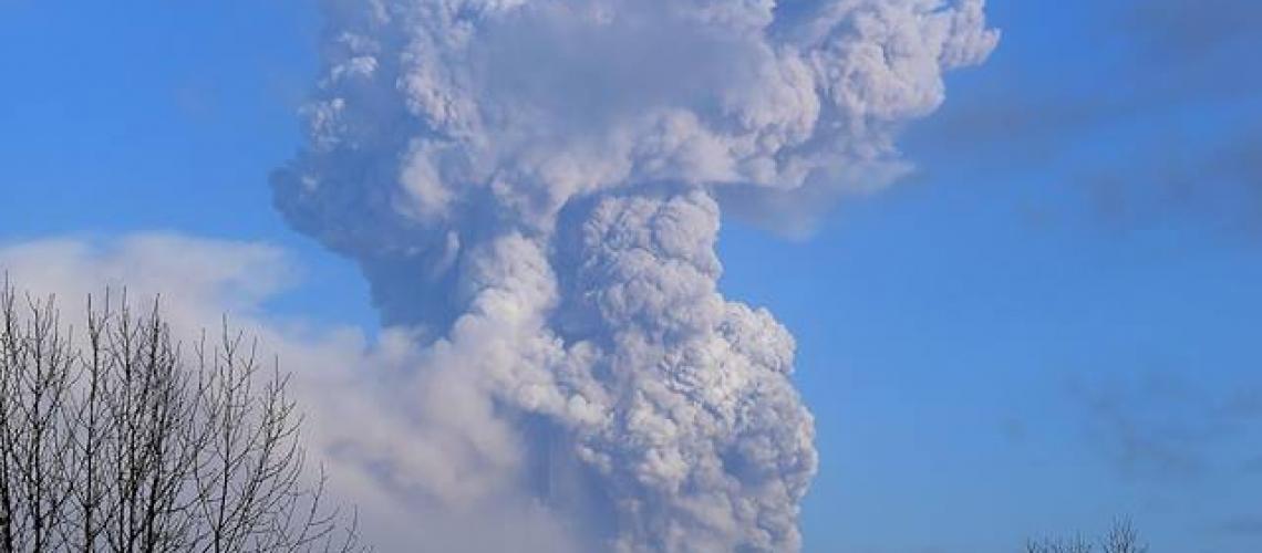 January 01 , 2019. EN.   Russia / Kamchatka : Sheveluch , El Salvador : San Miguel ( Chaparrastique) , Indonesia : Anak Krakatau , Costa Rica : Turrialba / Poas .