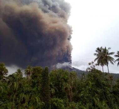January 25 ,  2019. EN.  Papua New Guinea : Manam , Chile : Villarica , Colombia : Cerro Machin , Kamchatka : Sheveluch .