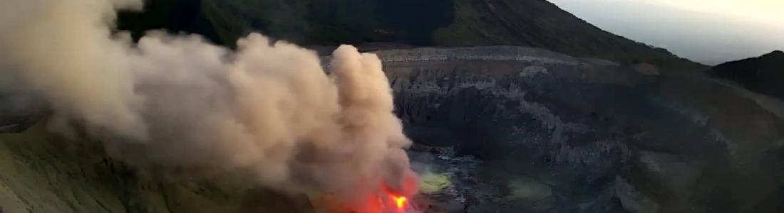 February 12 , 2019. EN.  Costa Rica : Poas , Peru : Sabancaya / Ubinas , Ecuador : Reventador , Indonesia : Karangetang .