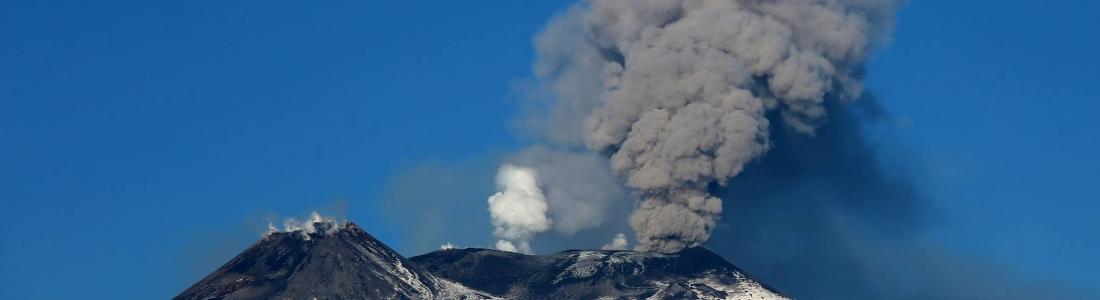February 19 , 2019. EN. La Réunion : Piton de la Fournaise , Indonesia : Anak Krakatau , Italy / Sicily : Etna , Peru : Sabancaya / Misti , El Salvador : San Miguel ( Chaparrastique ) , Indonesia : Bromo .