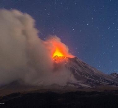 September 06 , 2016. EN. Nevados De Chillan , Copahue , Popocatepetl , California Volcanoes .