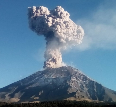 March 07 , 2019. EN . La Réunion : Piton de la Fournaise , Colombia : Chiles / Cerro Negro , El Salvador : San Miguel ( Chaparrastique) , Indonesia : Dukono ,  Mexico : Popocatepetl .