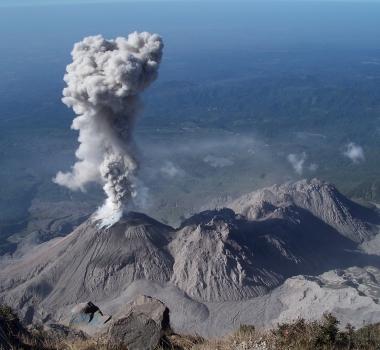 June 15 , 2016. EN. Santiaguito , Cerro Machin , Kuchinoerabujima , San Cristobal .