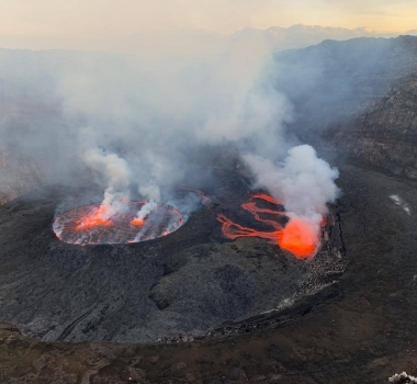 May 09, 2019 . EN . Italy / Sicily : Etna , Kamchatka : Sheveluch , Democratic Republic of Congo : Nyiragongo , Japan : Asosan .