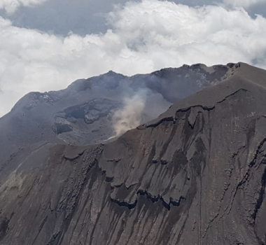 April 19, 2019. EN. Mexico : Popocatepetl , Colombia : Chiles / Cerro Negro , Philippines : Taal , Indonesia : Dukono .