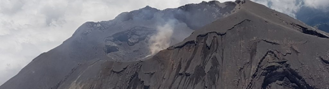 19 Avril 2019. FR. Mexique : Popocatepetl , Colombie : Chiles / Cerro Negro , Philippines : Taal , Indonesie : Dukono .