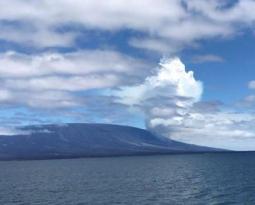 June 17 , 2018. EN . Hawai : Pu'u 'Ō'ō / Kilauea ,  Japan : Sakurajima , Ecuador / Galapagos : Fernandina , Mexico : Popocatepetl .
