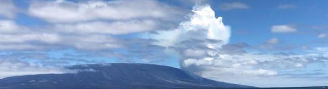 17 Juin 2018. FR. Hawai : Pu'u 'Ō'ō / Kilauea , Japon : Sakurajima , Equateur / Galapagos : Fernandina , Mexique : Popocatepetl.