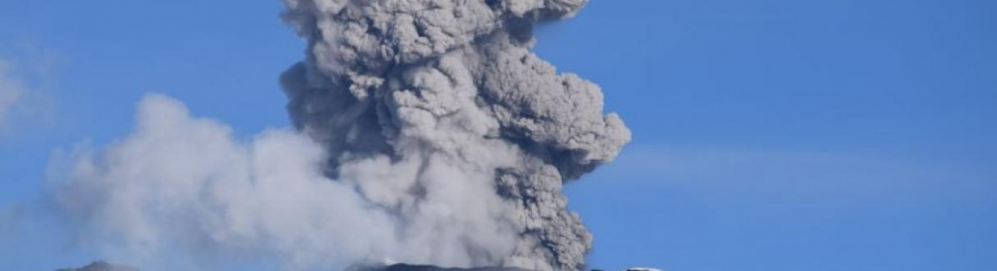 30 Avril 2019. FR . Perou : Sabancaya , Indonésie : Agung , Chili : Copahue , Guatemala : Fuego .