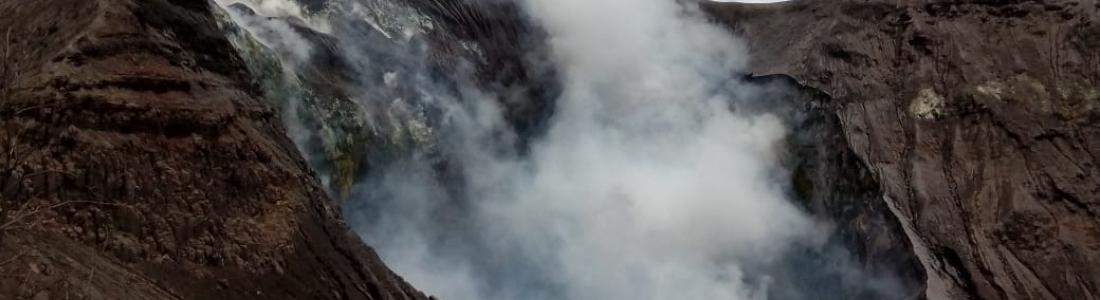 28 Juin 2019. FR.  Indonésie : Anak Krakatau , Philippines : Taal , Costa Rica : Turrialba / Poas / Rincon de la Vieja , La Guadeloupe : La Soufrière , El Salvador : San Miguel ( Chaparrastique ) .