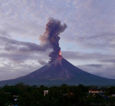 February 21 , 2018. EN.  Mayon , Nevados de Chillan , Cerro Machin , Kadovar , Dukono .