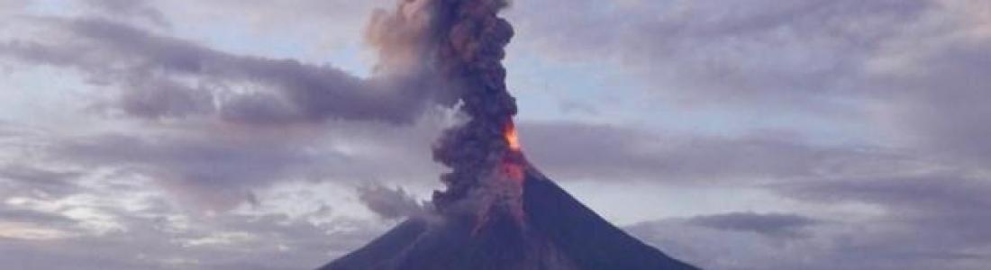 21 Février 2018. FR. Mayon , Nevados de Chillan , Cerro Machin , Kadovar , Dukono .