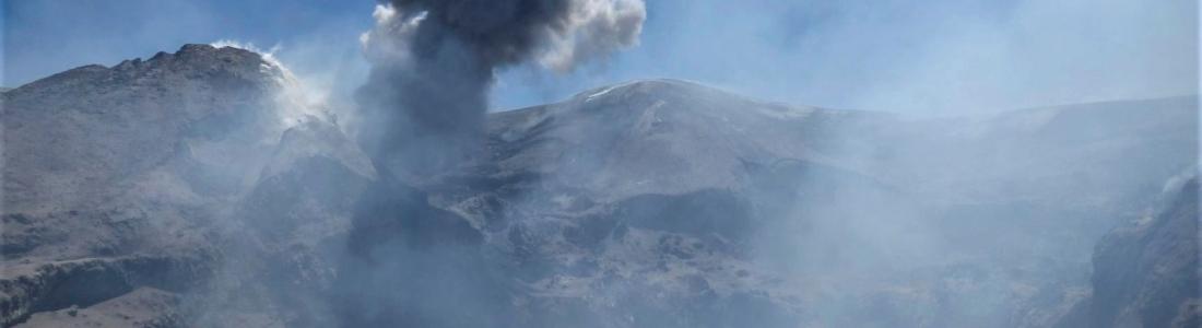 19 Juin 2019. FR. Italie / Sicile : Etna , Mexique : Popocatepetl , Perou : Sabancaya / Ubinas , Colombie : Nevado del Huila .