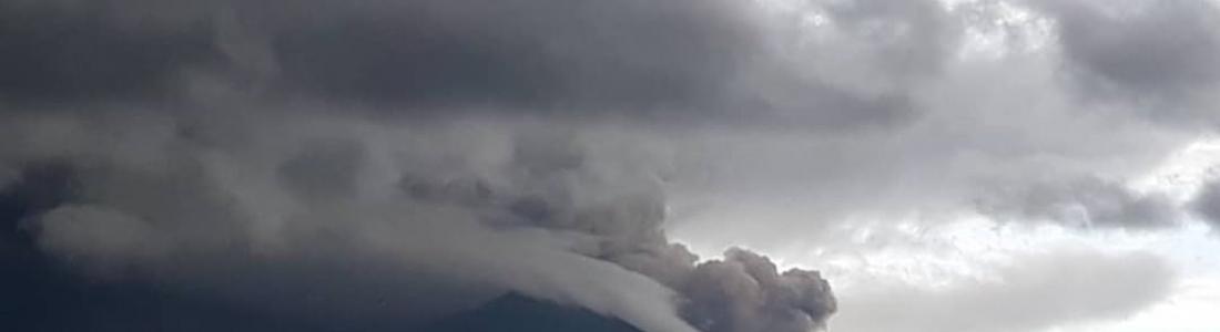 29 Juin 2019. FR. Papouasie Nouvelle Guinée : Manam , Mexique : Colima ,  Equateur : Reventador , Mexique : Popocatepetl .