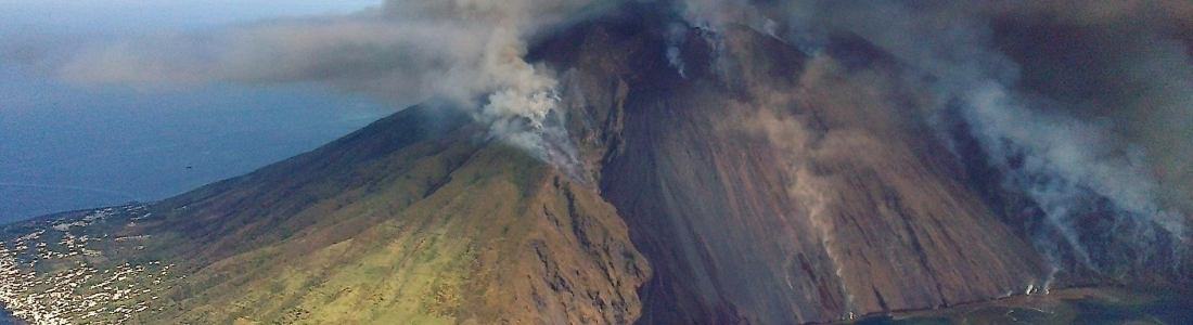 05 Juillet 2019. FR. Italie : Stromboli , Equateur : Sangay , Philippines : Taal , Guatemala : Santiaguito .