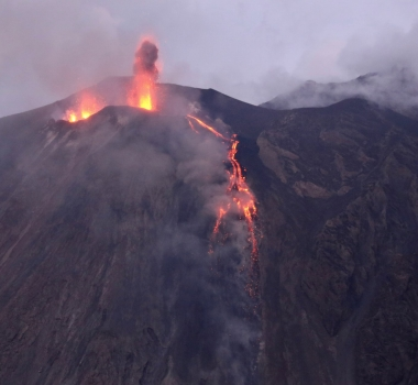 July 15, 2019. EN. Italy : Stromboli , Chile : Nevados de Chillan , Russia / Kuril Islands : Raikoke , Mexico : Popocatepetl .