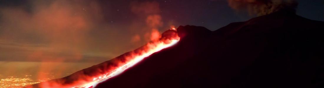 July 22, 2019. EN. Italy / Sicily : Etna , Kamchatka : Ebeko , Guatemala : Pacaya , Indonesia : Agung .