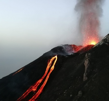 July 12, 2019. EN. Italy : Stromboli , Hawaii : Mauna Loa , Colombia : Chiles / Cerro Negro , Indonesia : Dukono .