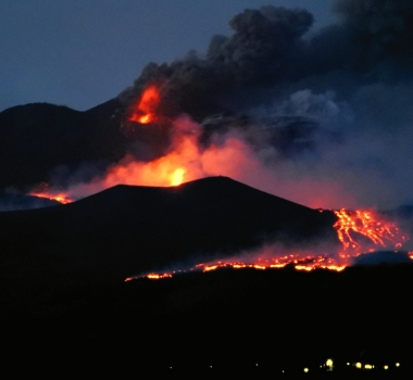July 28, 2019. EN. Italy / Sicily : Etna , Indonesia : Tangkuban Parahu , Indonesia : Merapi , Philippines : Taal .