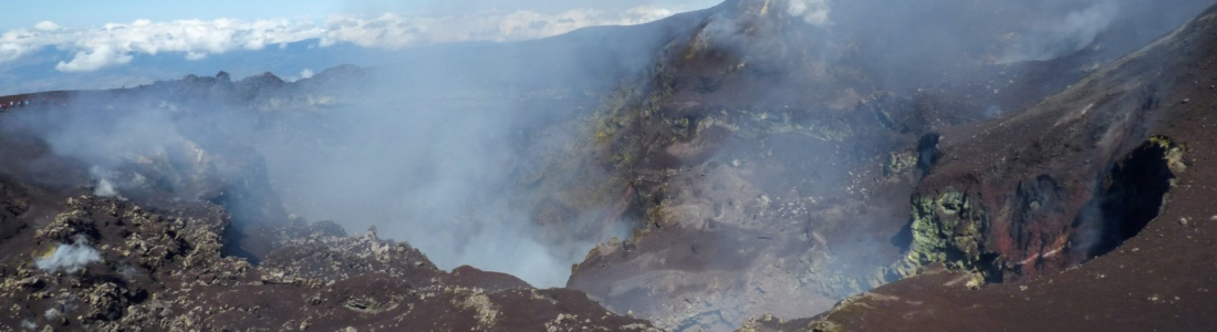 September 09 , 2019. EN. Italy / Sicily : Etna , Philippines : Taal , Mexico : Popocatepetl , Guatemala : Fuego .