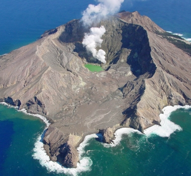 April 16, 2019 . EN . Peru : Sabancaya , Philippines : Taal , Indonesia : Anak Krakatau , New Zealand : White Island .