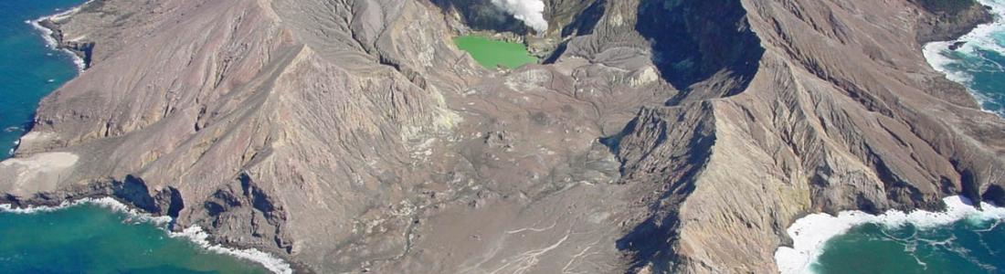 November 01 , 2017. EN.  Nevado Del Huila , Turrialba , Poas , Rincon de la Vieja , Piton de la Fournaise , White Island .