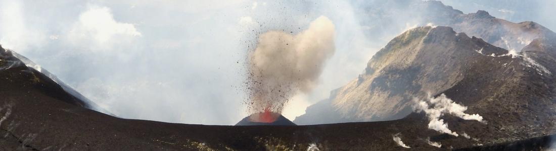 17 Septembre 20198. FR . Italie / Sicile : Etna , Kamchatka : Sheveluch , Japon : Sakurajima .