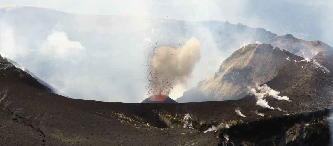 September 17, 20198. EN. Italy / Sicily : Etna , Kamchatka : Sheveluch , Japan : Sakurajima .