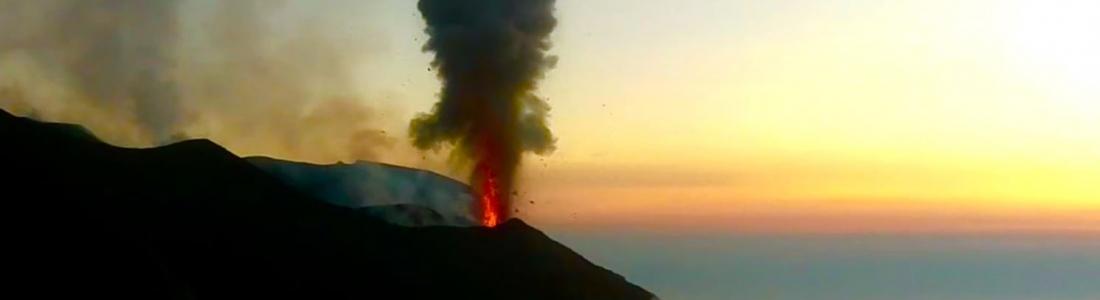 30 Avril 2020. FR . Italie : Stromboli , Colombie : Nevado del Ruiz , Japon : Suwanosejima , Indonésie : Dukono .