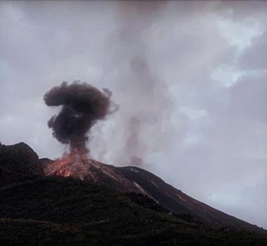 September 24, 2019. EN. Italy : Stromboli , Indonesia : Anak Krakatau , Peru : Ubinas , Peru : Sabancaya , Costa Rica : Poas .