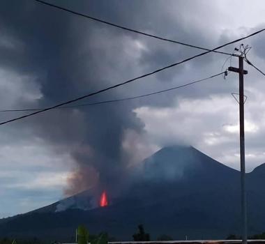 01 October 2019. EN. Costa Rica : Poas , Colombia : Nevado del Ruiz , Peru : Ubinas , Papua New Guinea : Ulawun .