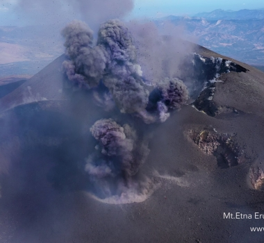 October 11, 2019. EN. Italy / Sicily : Etna , Hawaii : Mauna Loa , Colombia : Nevado del Ruiz , Mexico : Popocatepetl .