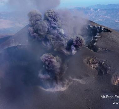 October 11, 2019. EN. Italy / Sicily : Etna , Hawaii : Mauna Loa , Colombia : Nevado del Ruiz , Mexico : Popocatepetl .