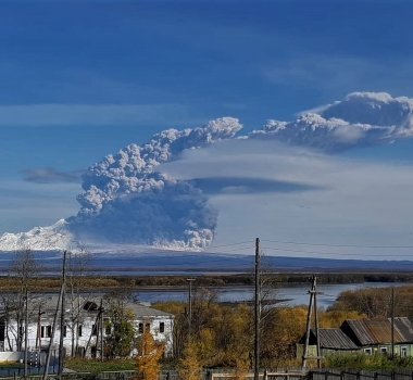 October 03 , 2019. EN. Kamchatka : Sheveluch , Papua New Guinea : Ulawun , Colombia : Chiles / Cerro Negro , United States : Yellowstone , Mexico : Popocatepetl .
