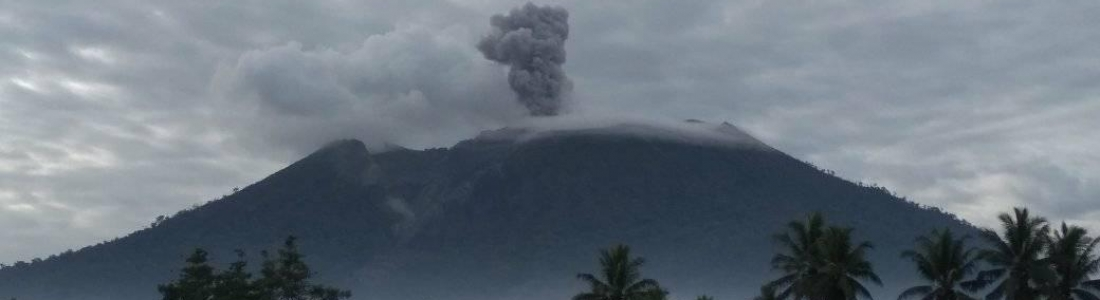 December 18, 2019. EN. New Zealand : White Island , Colombia : Nevado del Ruiz , Indonesia : Ibu , Alaska : Shishaldin .