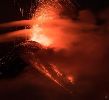 December 28 , 2019 . EN . Costa Rica : Turrialba / Poas / Rincon de la Vieja , Alaska : Cleveland , Guatemala : Fuego , Italy : Campi Flegrei .