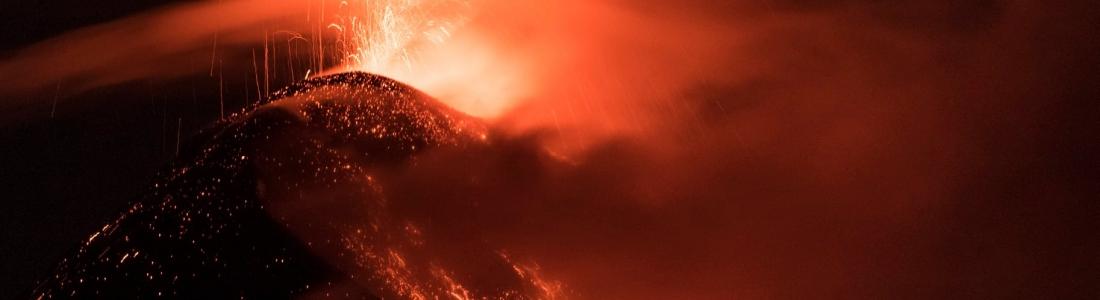 28 Décembre 2019. FR. Costa Rica : Turrialba / Poas / Rincon de la Vieja , Alaska : Cleveland , Guatemala : Fuego , Italie : Campi Flegrei .