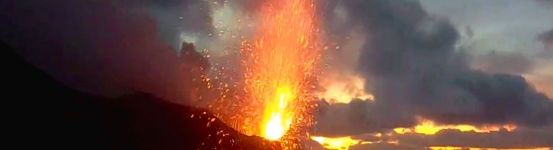 21 Mai 2020. FR. Italie : Stromboli , Russie / Iles Kuriles  : Ebeko , Colombie : Nevado del Ruiz , Indonésie : Dukono , Japon : Aira ( Sakurajima ).