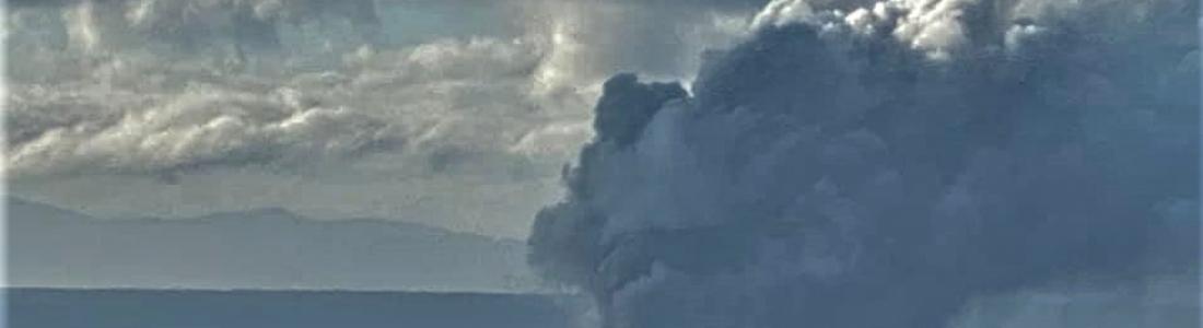 January 15, 2020. EN . Philippines : Taal , Italy / Sicily : Etna , Peru : Ubinas , New Zealand : White Island , Indonesia : Anak Krakatau .