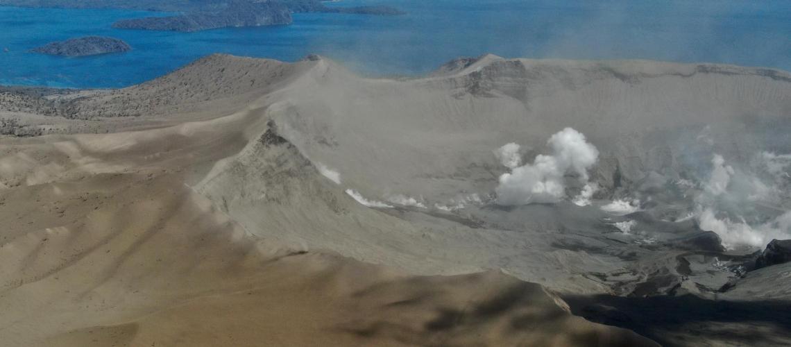 January 18, 2020. EN . Philippines : Taal , Italy : Campi Flegrei , Alaska : Shishaldin , Mexico : Popocatepetl .