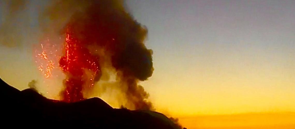 March 19, 2020. EN. Italy : Stromboli , Philippines : Taal , Iceland : Reykjanes Peninsula , Guatemala : Fuego , Ecuador : Reventador .