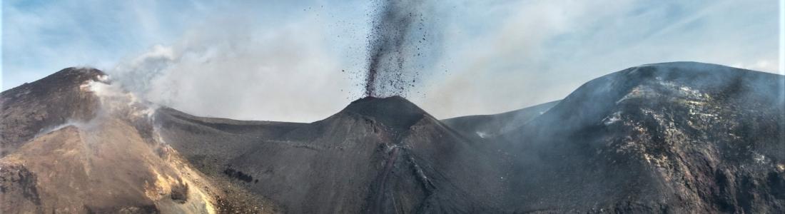 February 05 , 2020. EN . Colombia : Nevado del Ruiz , Mexico : Michoacán , Italy / Sicily : Etna , Philippines : Taal , Indonesia : Semeru .