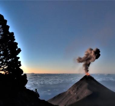 February 15, 2020. EN . La Reunion : Piton de la Fournaise , Guatemala : Fuego , Mexico : Popocatepetl , Indonesia : Dukono .