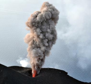 February 26, 2020. EN. Italy : Stromboli , Colombia : Nevado del Ruiz , Italy / Sicily : Etna , Ecuador : Sangay .