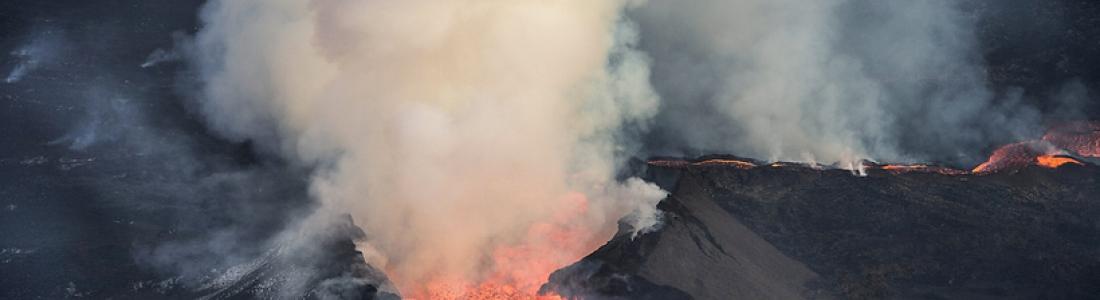 09/04/2016. FR. Bárðarbunga , Fuego , Ticsani , Popocatepetl .